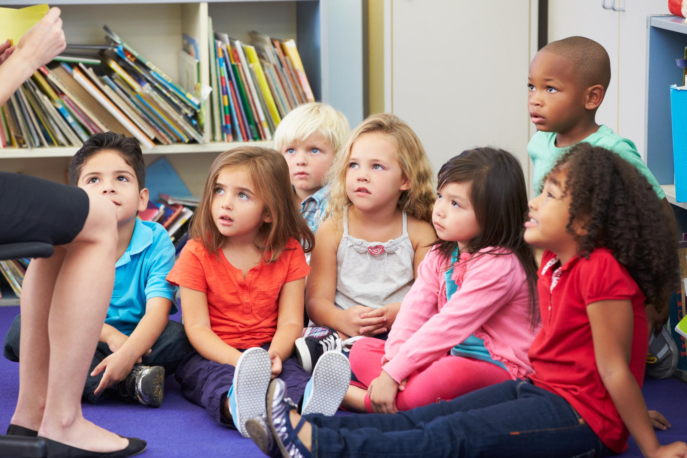 enfants de grande section de maternelle