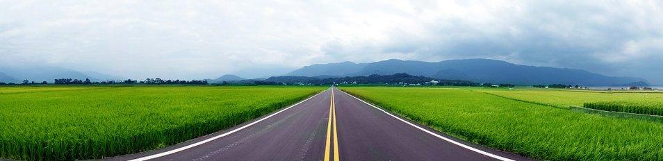 route en ligne droite
