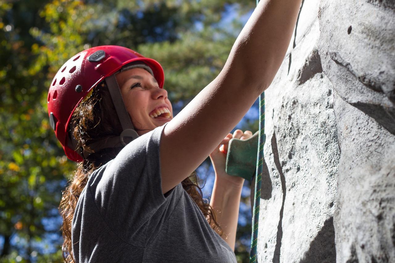 escalader et surmonter les obstacles
