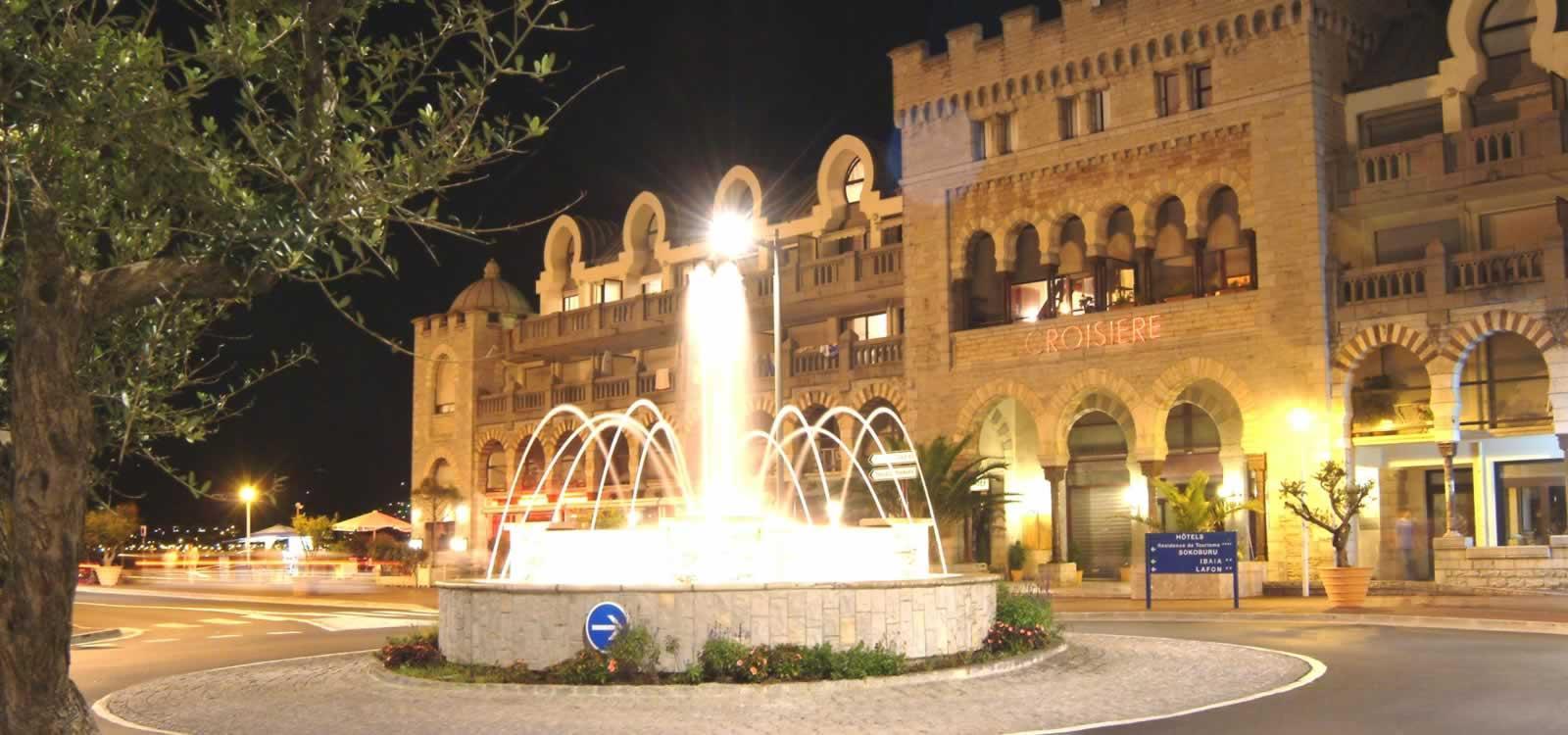 centre ville d'Hendaye
