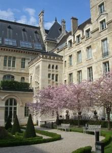 Cour d'honneur du lycée Louis le Grand à Paris
