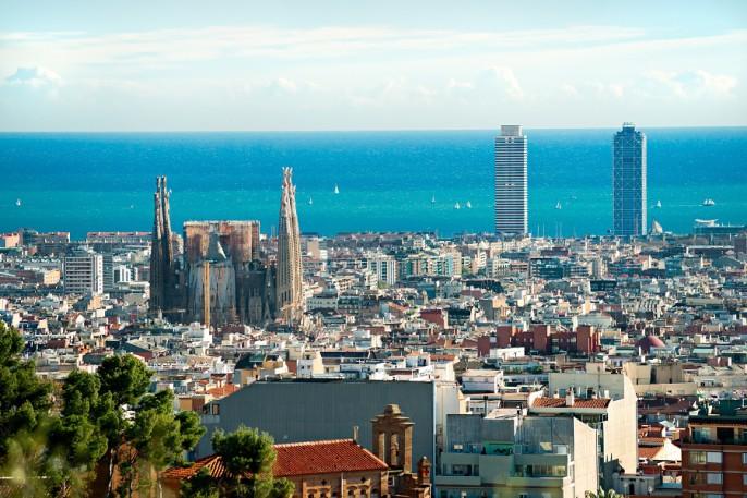 panorama de la ville de Barcelone