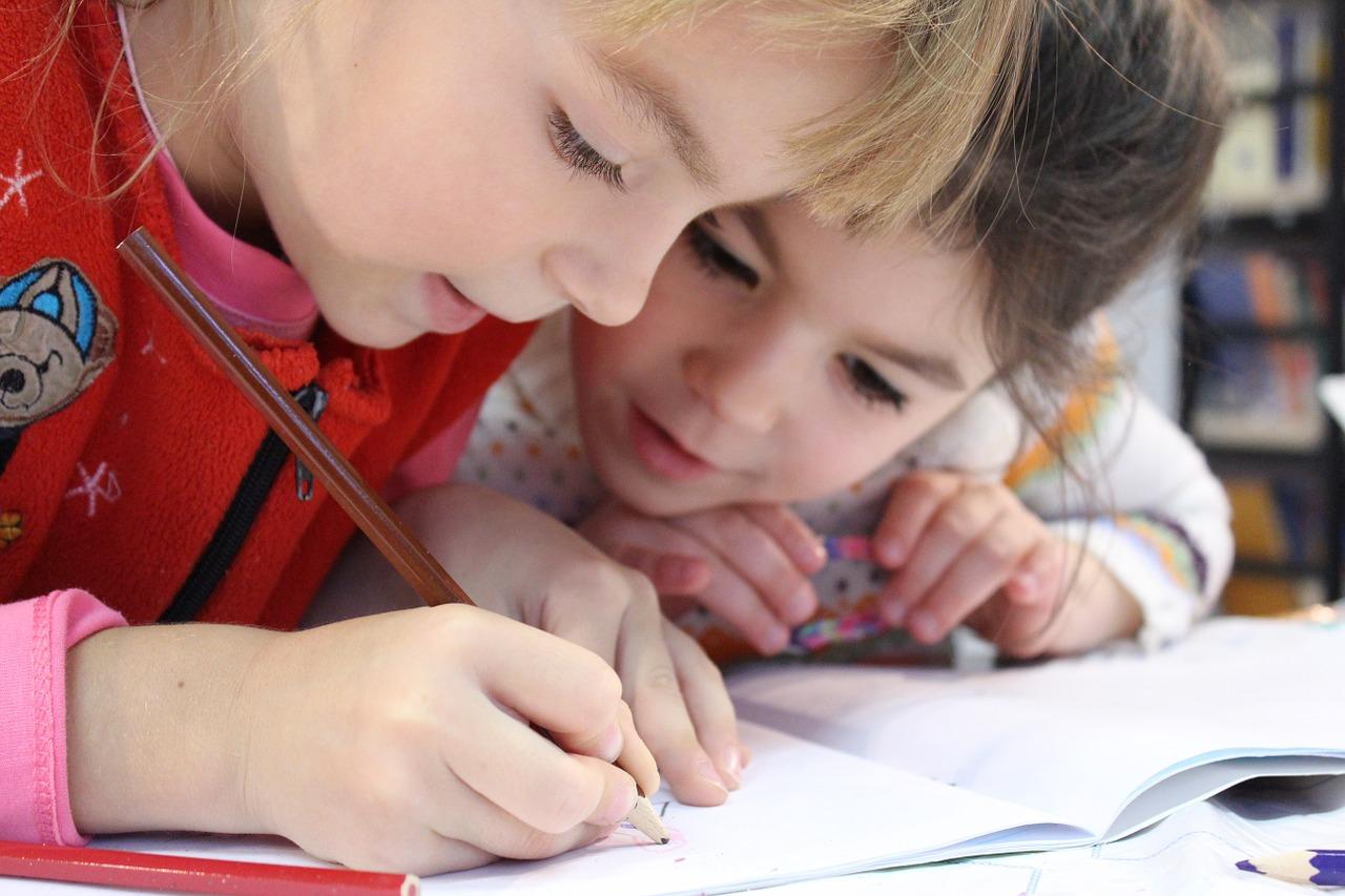 élèves de grande section de maternelle