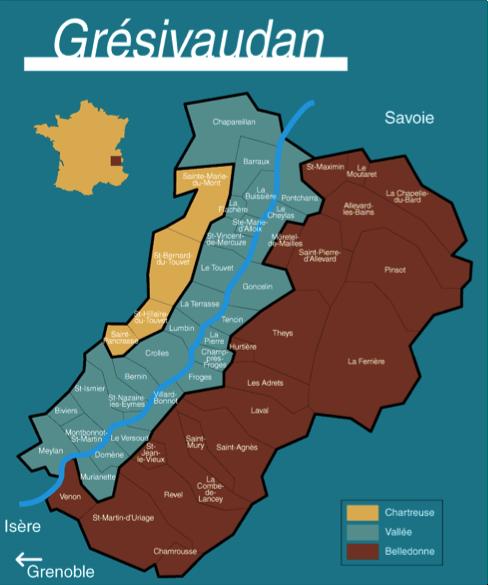 Vallée GRESIVAUDAN
