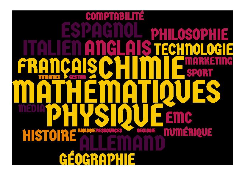 (Français) Les enseignements de spécialité en voie générale