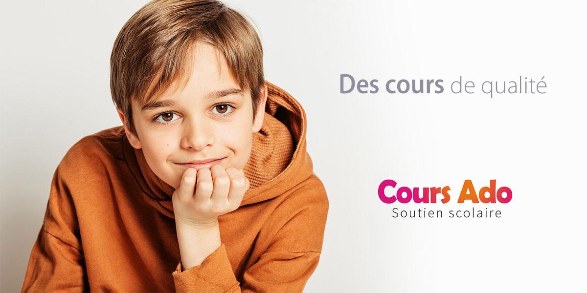 soutien scolaire Cours Ado
